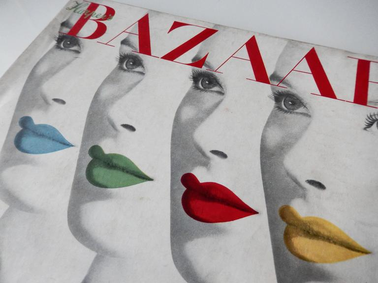 Herbert Bayer's 1940 Harper's Bazaar Cover In Good Condition For Sale In Winnetka, IL