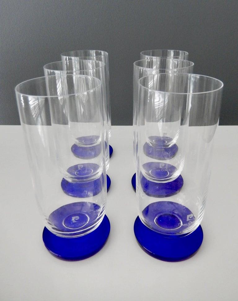 Japanese 1970s Modern Glassware by Pierre Cardin For Sale