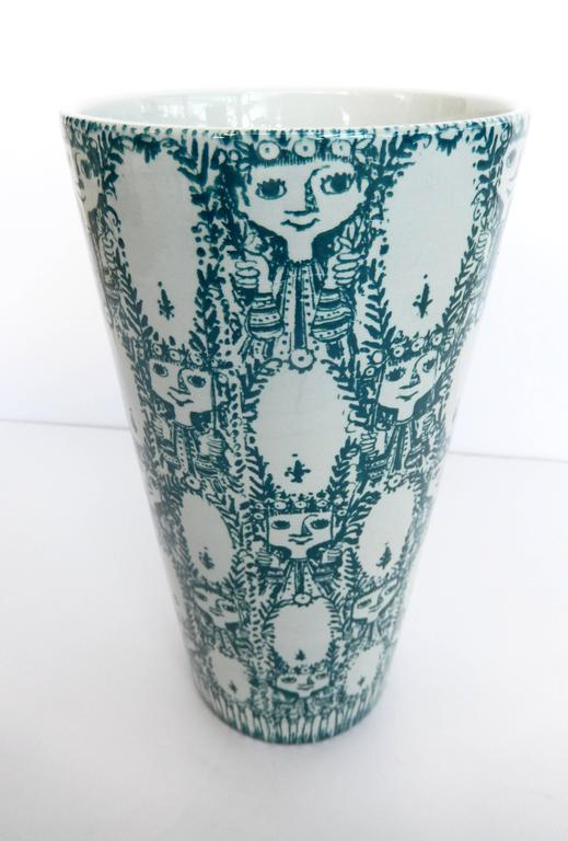 Vase by Bjorn Wiinblad In Good Condition For Sale In Winnetka, IL