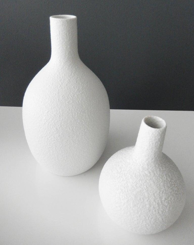 1960s Trio of Sgrafo Modern Vases, Germany 4