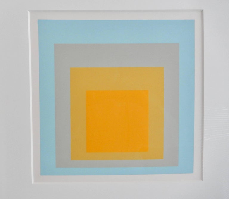 A luminous color screenprint titled