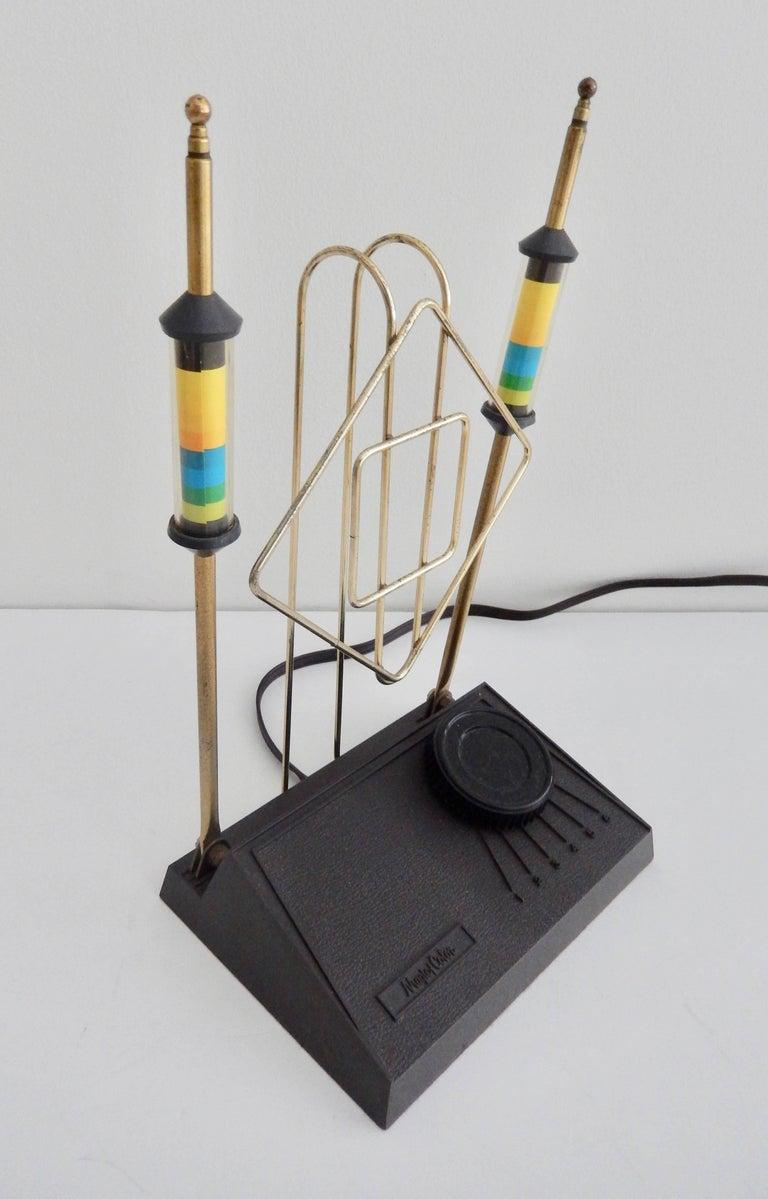"""Mid-Century Modern """"Rabbit Ears"""" TV Antenna/Space Age 6"""