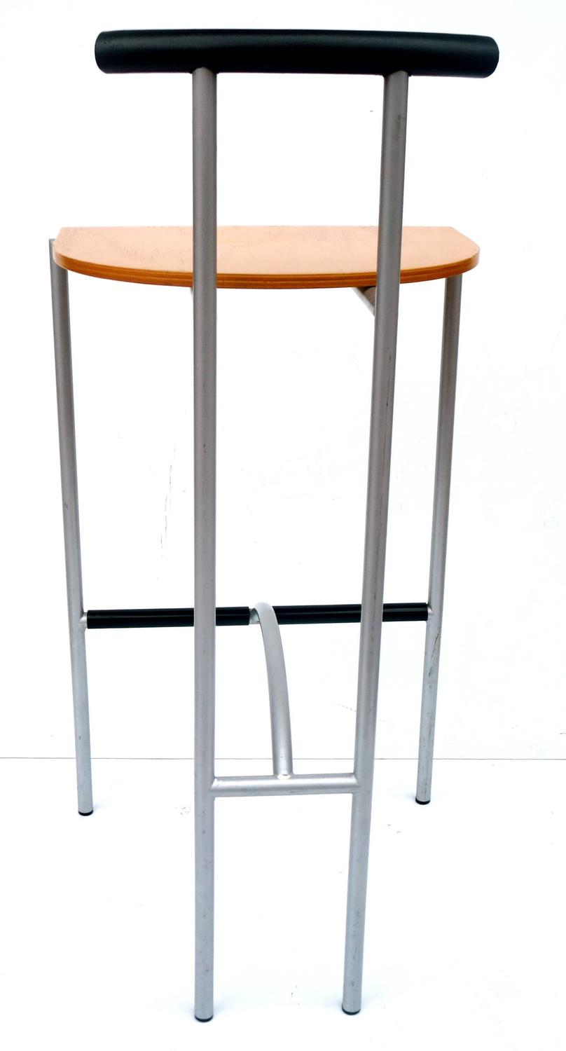 1980s pair of barstools design by rodney kinsman for for 1980s furniture design