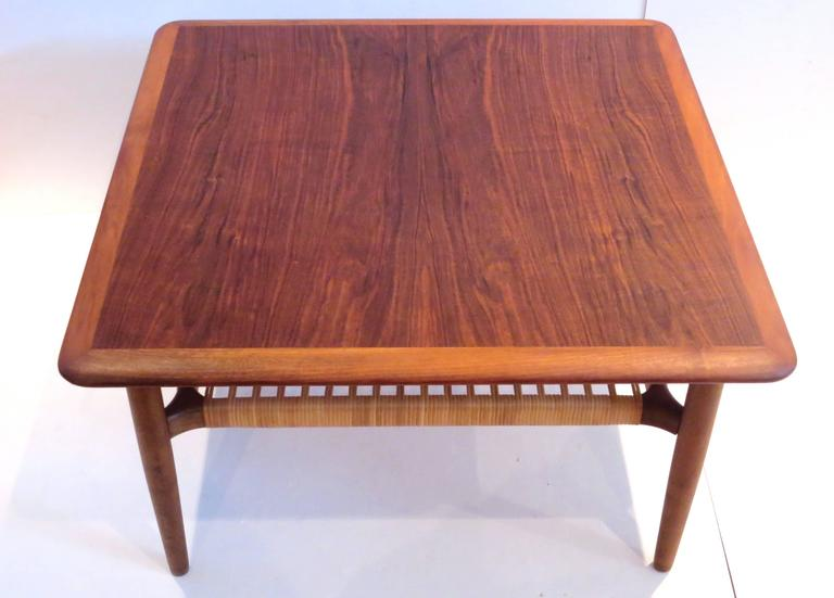 Simple Elegant Beautiful Square Coffee Table Or Tail End Designed By Gunnar Schwartz In