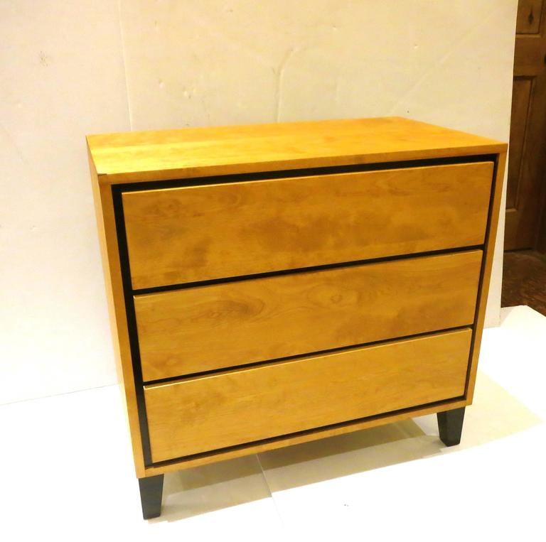 1950s American Modern Triple-Drawer Dresser by Russel Wright for Conant Ball 2
