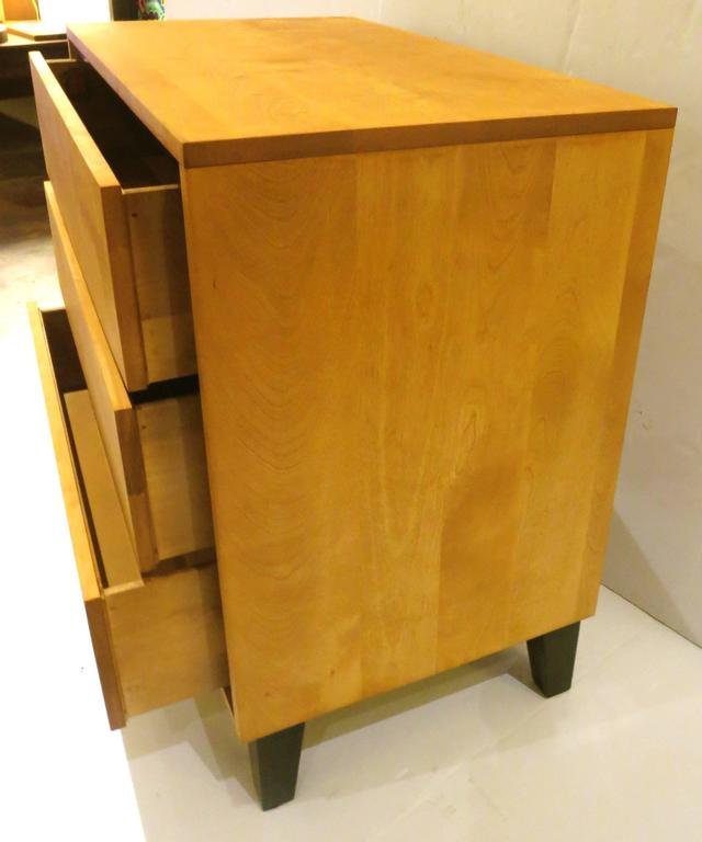 1950s American Modern Triple-Drawer Dresser by Russel Wright for Conant Ball 3