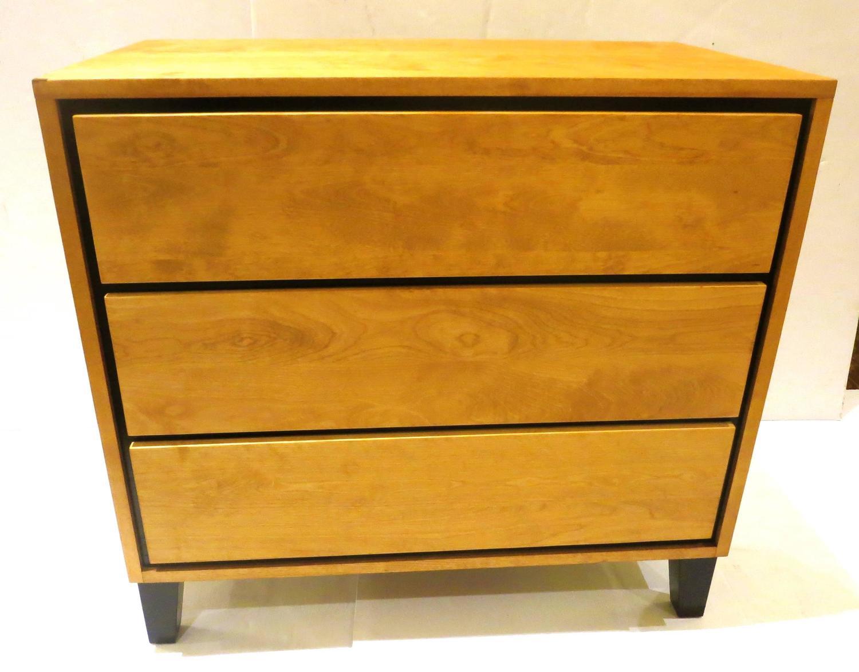 1950s American Modern Triple Drawer Dresser By Russel