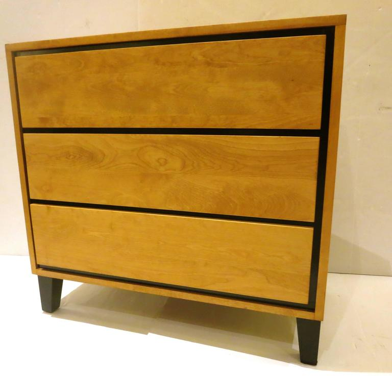 1950s American Modern Triple-Drawer Dresser by Russel Wright for Conant Ball 7