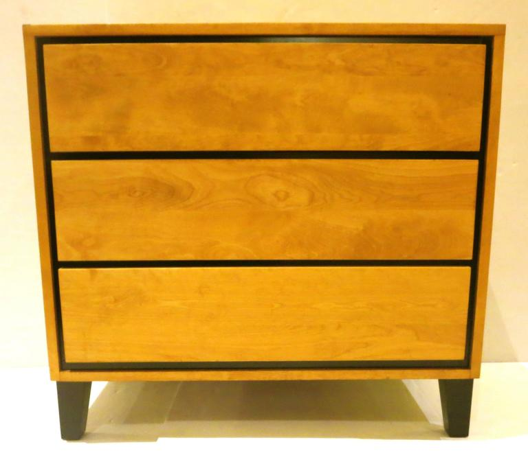 1950s American Modern Triple-Drawer Dresser by Russel Wright for Conant Ball 8