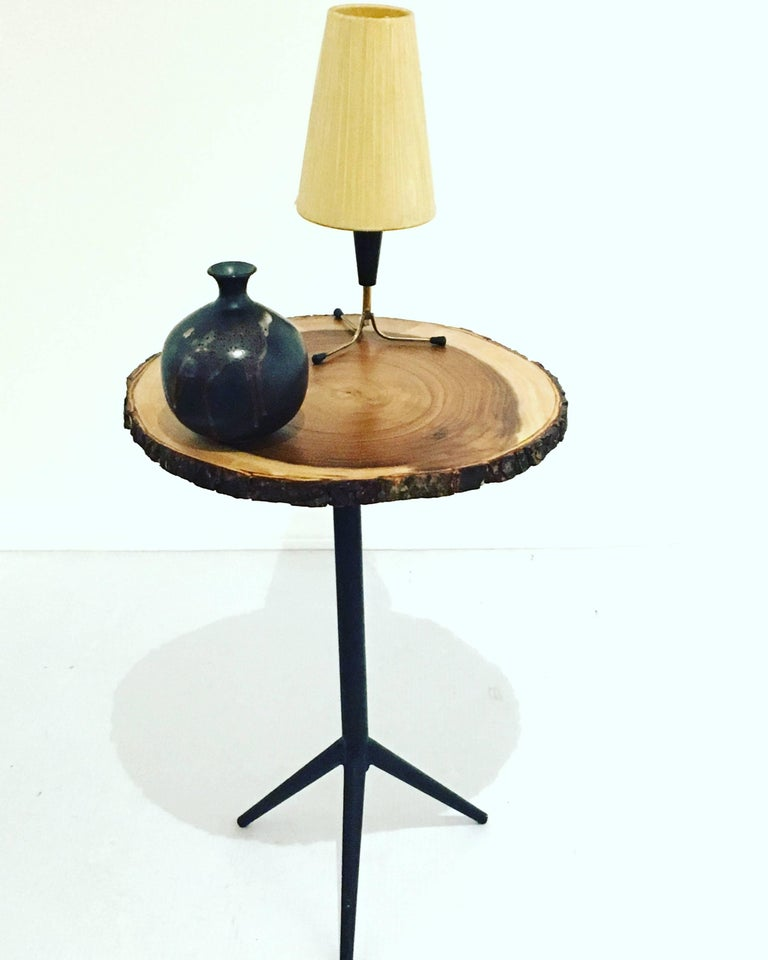 1950s American Mid Century Modern Small Round Top