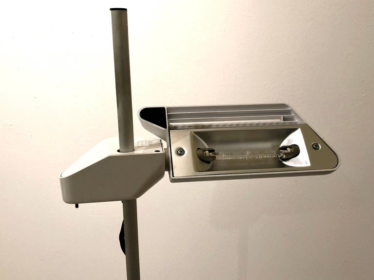 1981 Arteluce Floor Lamp Designed by Bruno Gecchelin In Excellent Condition For Sale In San Diego, CA