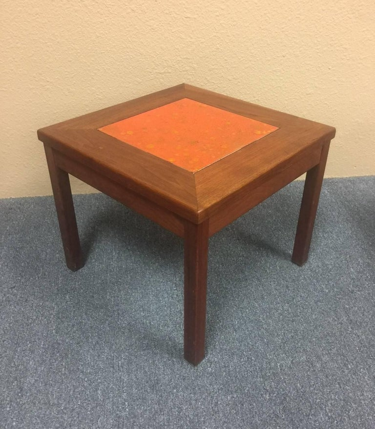 """20th Century Set of Three """"Constellation"""" End or Side Tables by John Keal for Brown Saltman For Sale"""