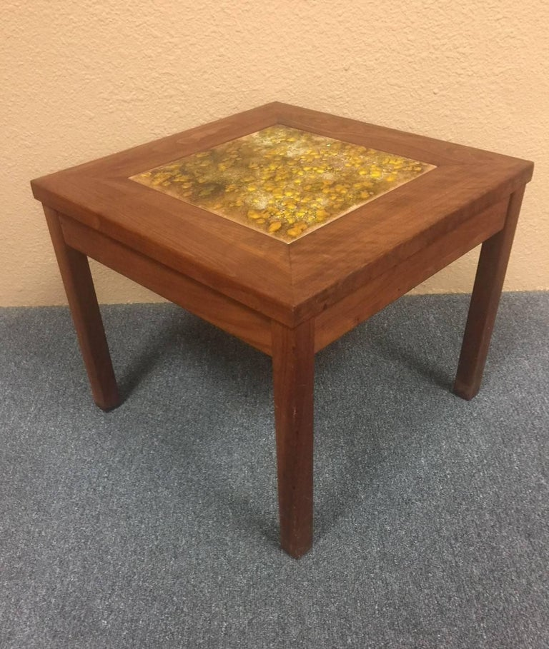 """Mid-Century Modern Set of Three """"Constellation"""" End or Side Tables by John Keal for Brown Saltman For Sale"""