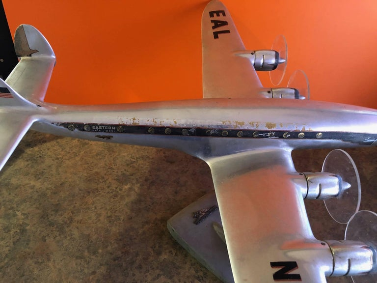 Eastern Airlines Super Constellation Aluminium Model Airplane For Sale 3
