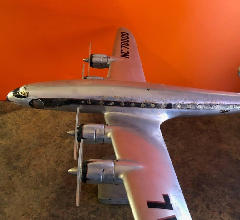 Eastern Airlines Super Constellation Aluminium Model Airplane For Sale 2