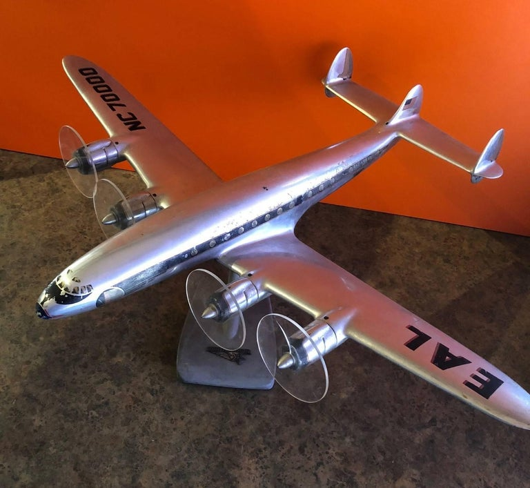 American Eastern Airlines Super Constellation Aluminium Model Airplane For Sale