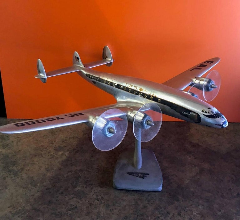 Aluminum Eastern Airlines Super Constellation Aluminium Model Airplane For Sale
