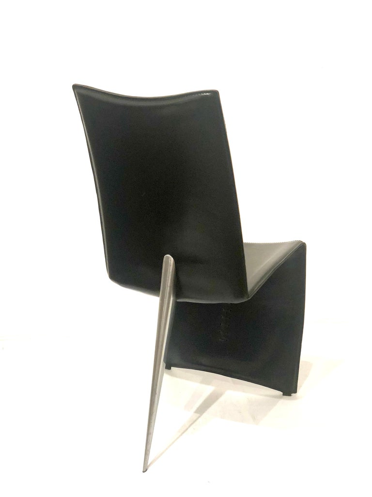 Post-Modern Striking Ed Archer Chair by Philippe Starck for Driade For Sale