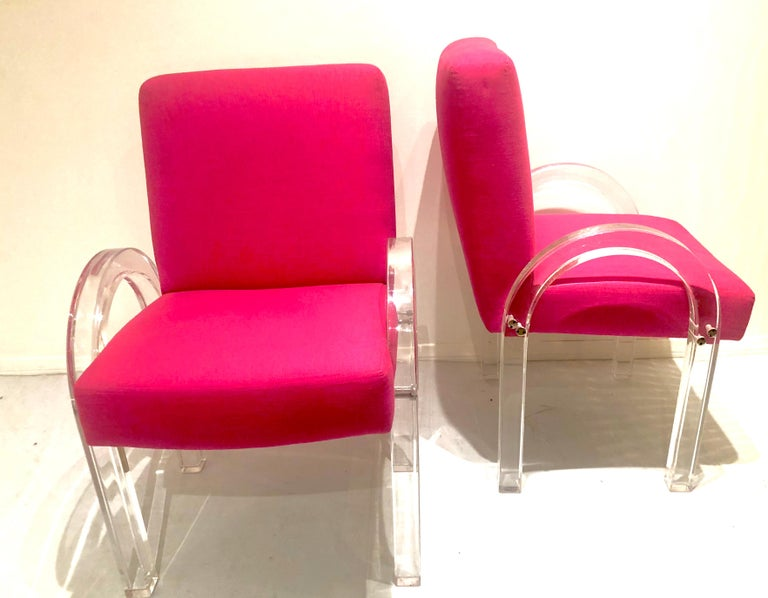 Post-Modern Pair of Archline Armchairs by Charles Hollis Jones For Sale