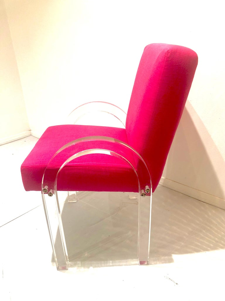 American Pair of Archline Armchairs by Charles Hollis Jones For Sale