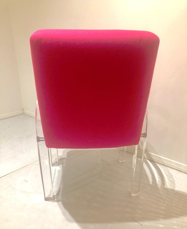 Pair of Archline Armchairs by Charles Hollis Jones In Good Condition For Sale In San Diego, CA