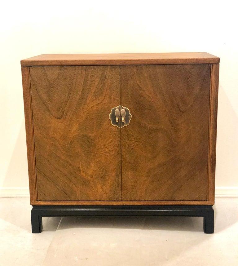 Hollywood Regency Asian Modern Mid-Century Modern Cabinet by Landstrom Furniture For Sale