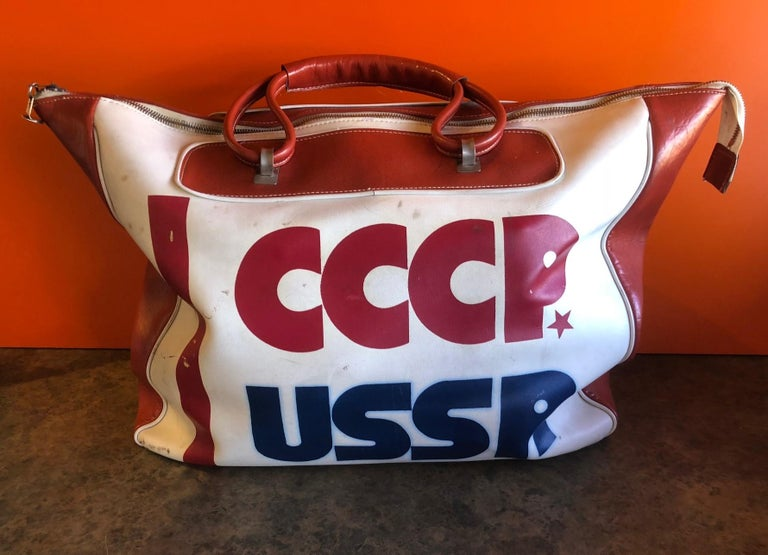 Authentic CCCP USSR Olympic Sports Bag For Sale 6