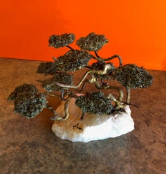 Mid-Century Bonsai Tree Sculpture by Mario Jason