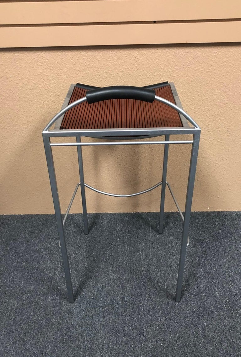 Pair of Sgabello Stools by Maurizio Peregalli for Zeus For Sale 1