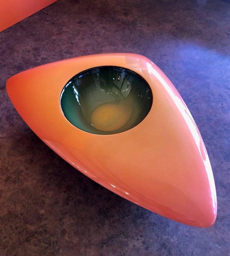 V-33 Model Earthenware Bowl by Fred Stodder For Sale 1