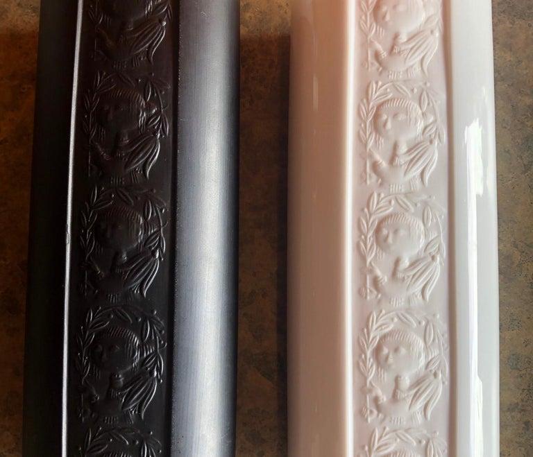 Porcelain Pair of Studio Line Vases by Bjorn Wiinblad for Rosenthal For Sale