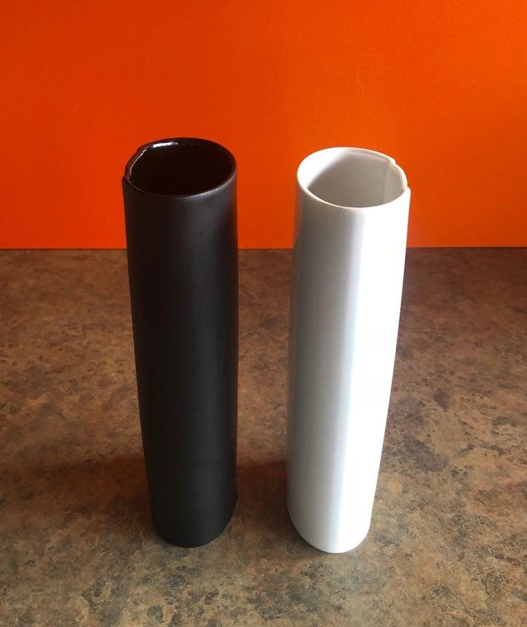 German Pair of Studio Line Vases by Bjorn Wiinblad for Rosenthal For Sale