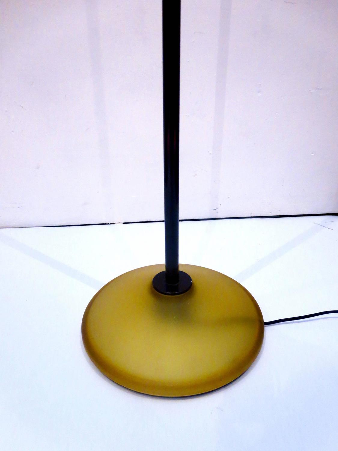 1978 arteluce donald floor torchiere lamp designed by king and miranda. Black Bedroom Furniture Sets. Home Design Ideas