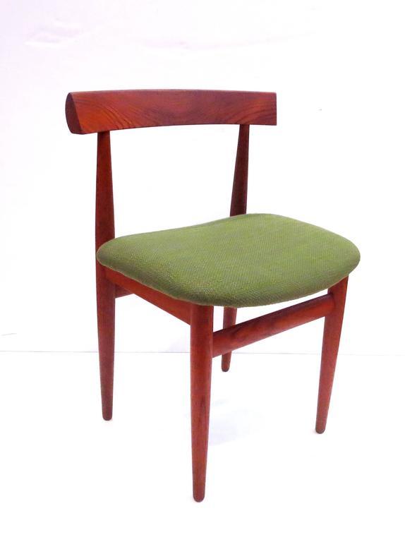 1950s Danish Modern Solid Teak Side Chair Design By Hans Olsen For Frem Rojle