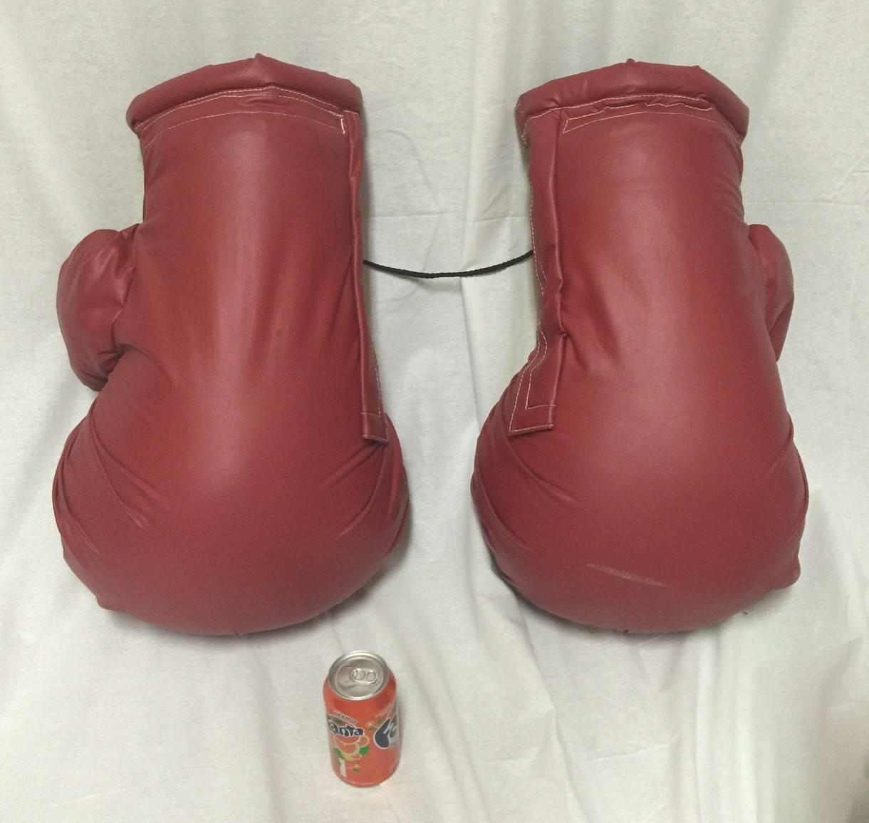 Unique Pair Of Vintage Oversized Boxing Gloves For Sale At