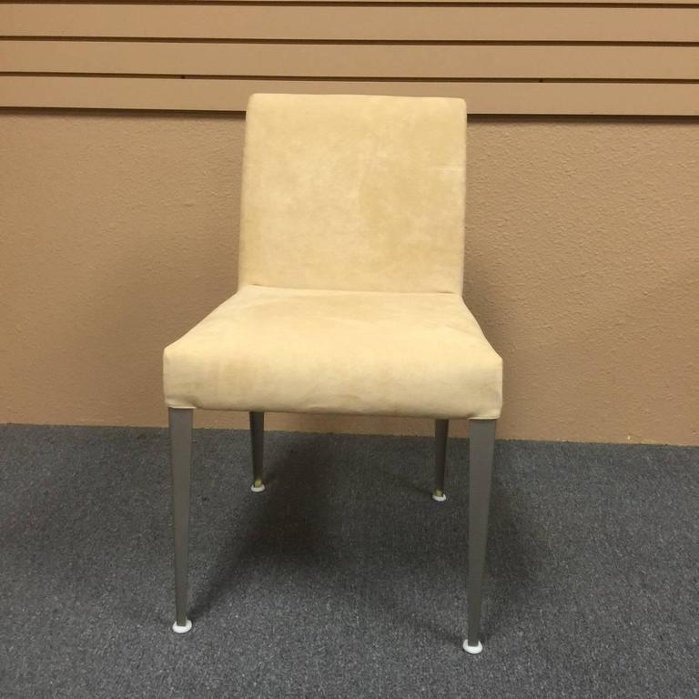 set of six b b italia melandra dining chairs by antonio citterio at