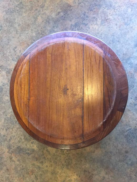 Danish Mid-Century Staved Teak Bowl by Jens Quistgaard For Sale