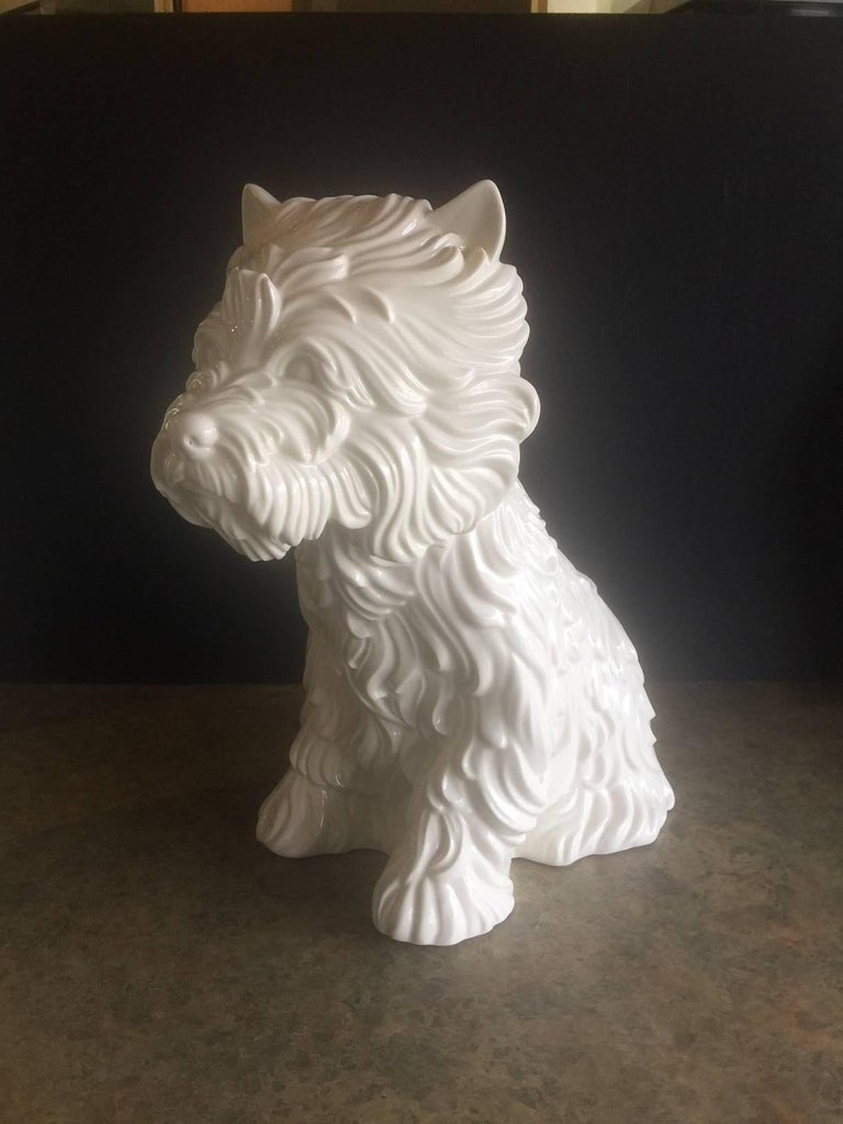 Quot Puppy Quot Vase By Jeff Koons 1998 At 1stdibs