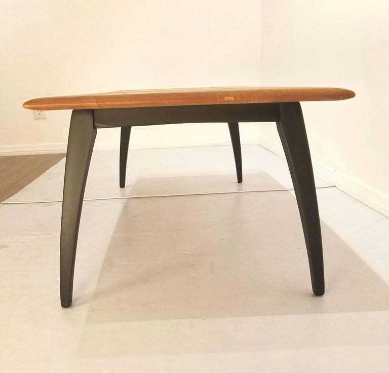 Solid Wood Mid Century Coffee Table: Mid-Century Modern Solid Wood Coffee Table For Sale At 1stdibs
