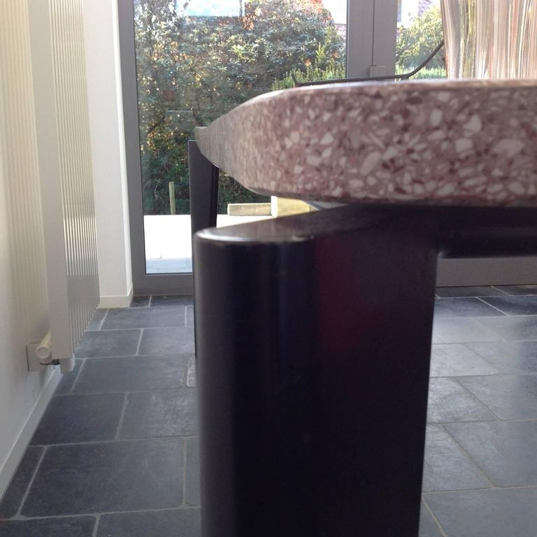 original flavigny table by jean prouv u00e9 with granite top  1945 at 1stdibs