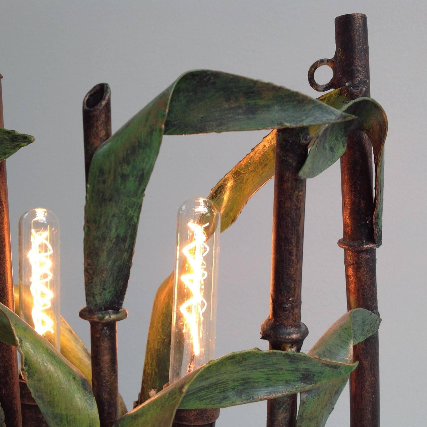 Small White Wall Lights : Very Beautiful Bamboo Art Wall Light, Anno, 1970 For Sale at 1stdibs