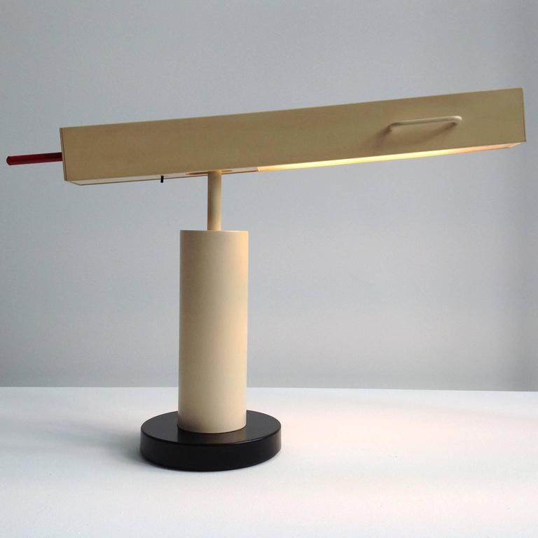 Extremely Rare Desk Lamp Design by Ettore Sottsass, Made in Small Quantity 2