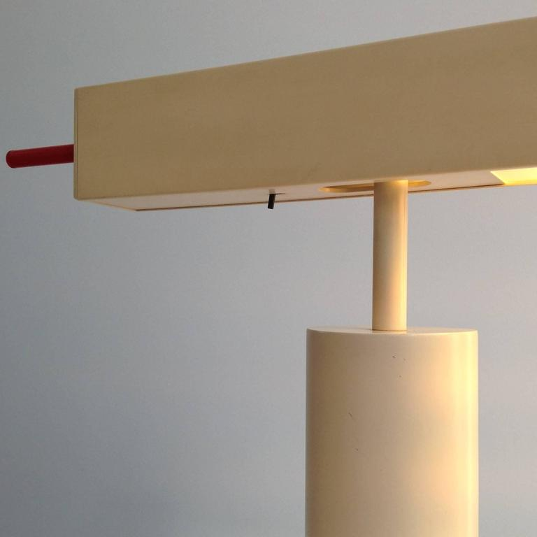 Extremely Rare Desk Lamp Design by Ettore Sottsass, Made in Small Quantity 3