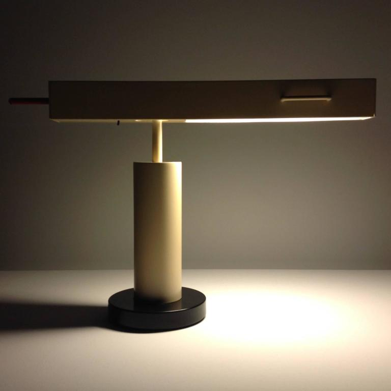 Extremely Rare Desk Lamp Design by Ettore Sottsass, Made in Small Quantity 4