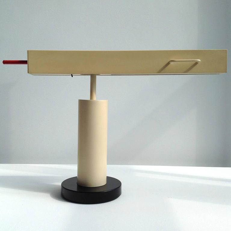 Extremely Rare Desk Lamp Design by Ettore Sottsass, Made in Small Quantity 6