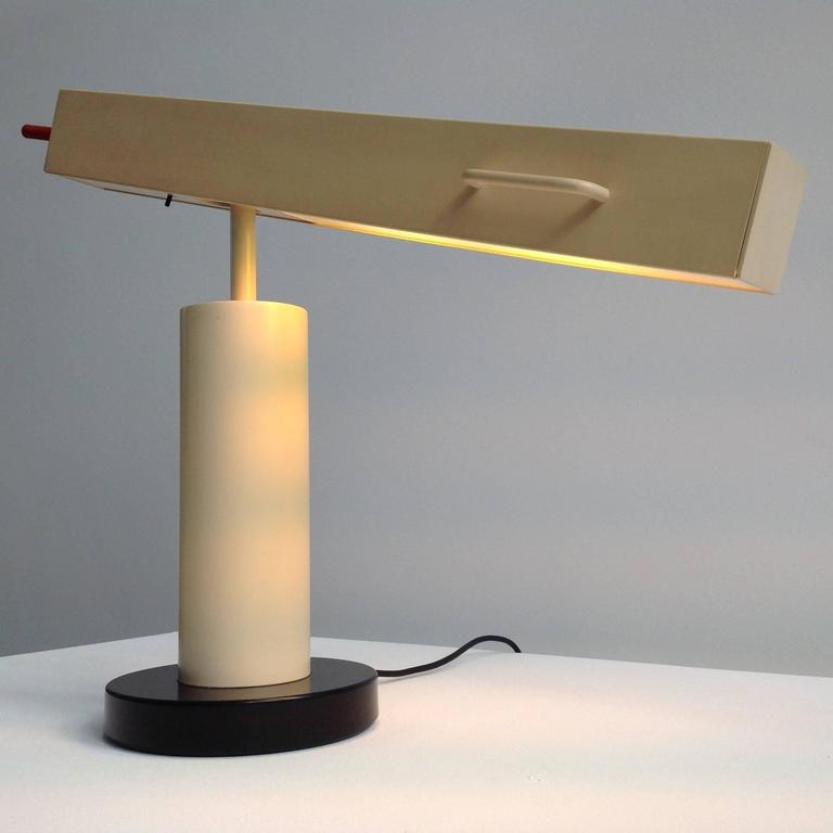Extremely Rare Desk Lamp Design by Ettore Sottsass, Made in Small Quantity 7