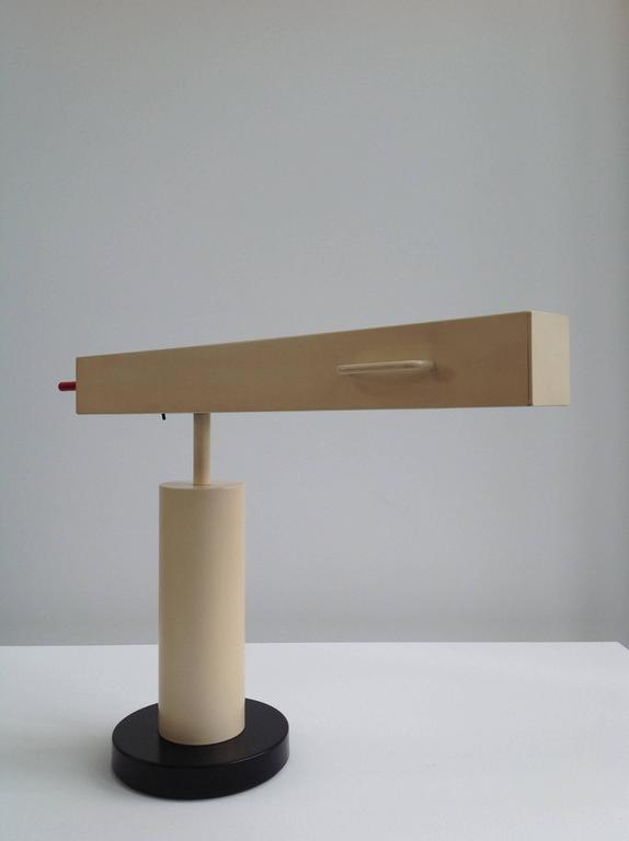 Extremely Rare Desk Lamp Design by Ettore Sottsass, Made in Small Quantity 8