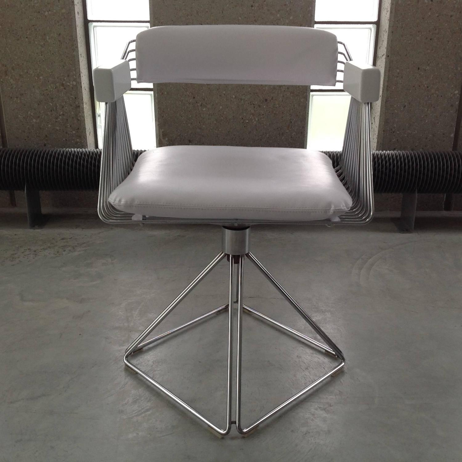 Set Of 6 Comfortable Dining Chairs By Rudi Verelst For