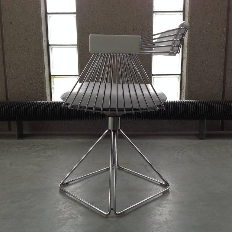 set of 6 comfortable dining chairs by rudi verelst for novalux belgium