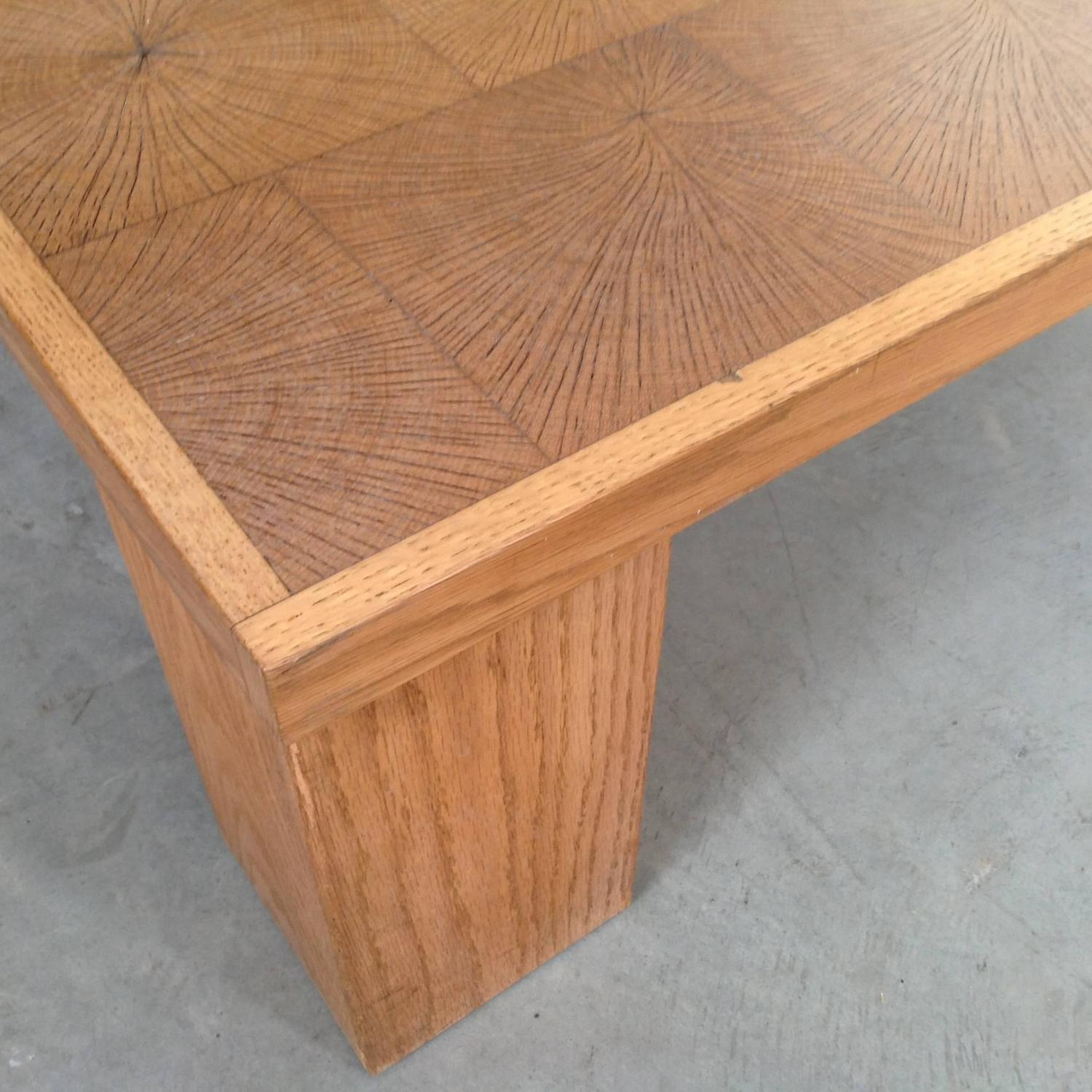 Solid Wood Block Coffee Table: Elegant Coffee Table In Solid Oak Block Wood By Emiel